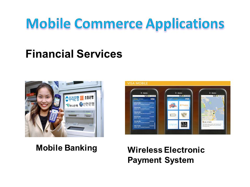 Financial Services (continued)