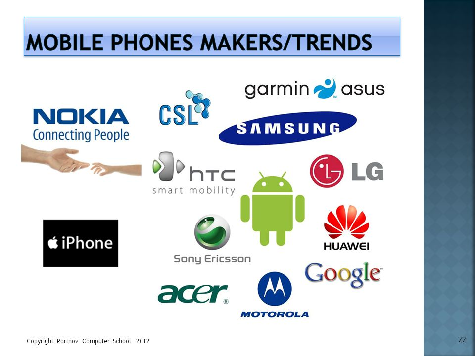 Mobile Phones makers/trends