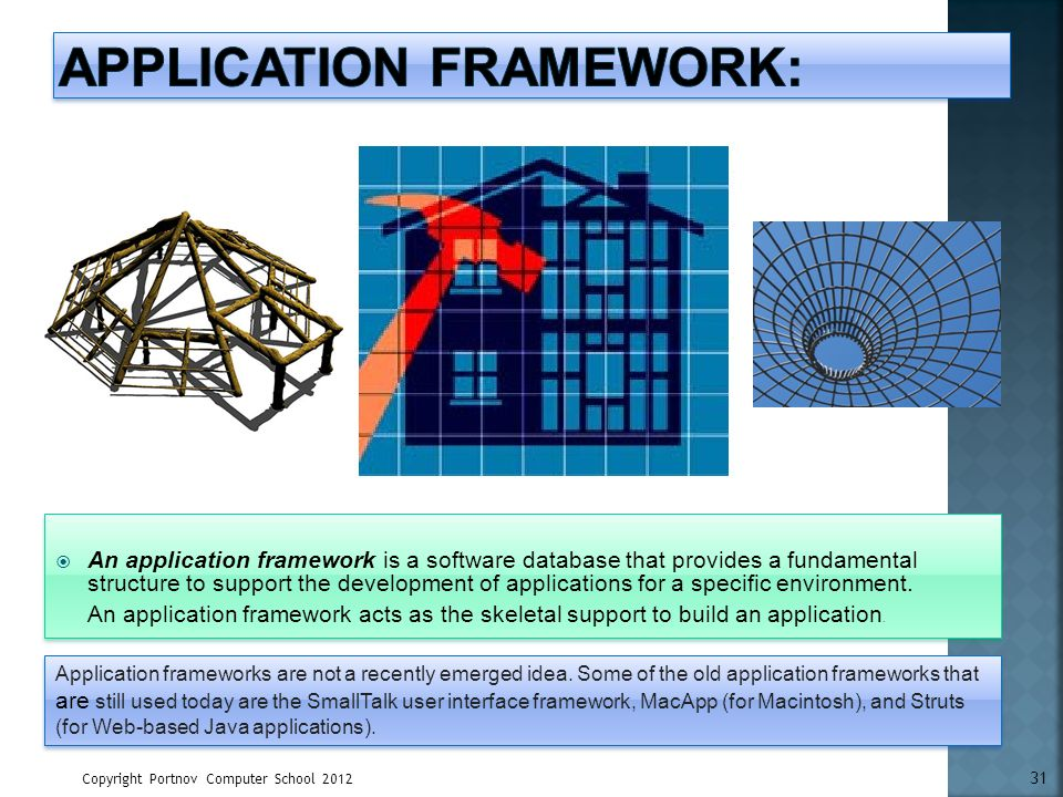 Application Framework: