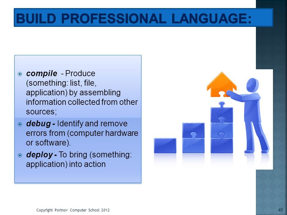 Build Professional Language: