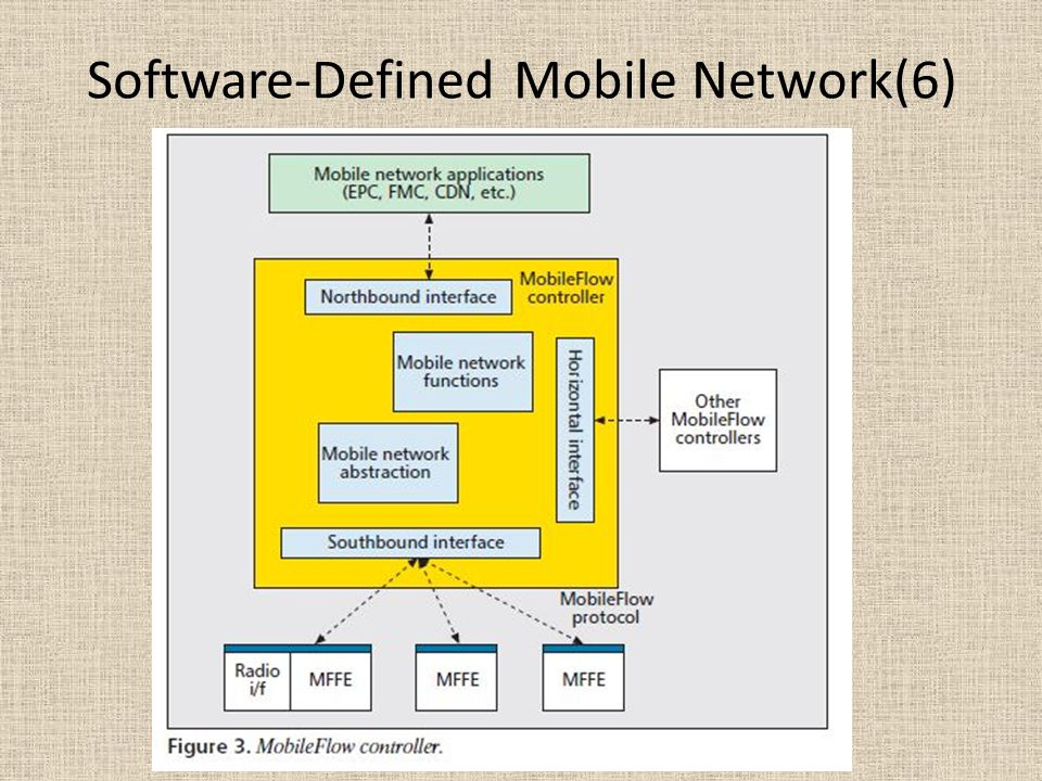 Software-Defined Mobile Network(6)