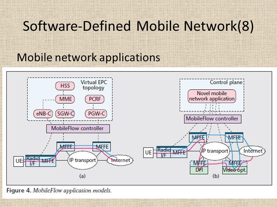 Software-Defined Mobile Network(8)
