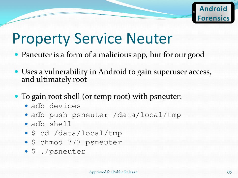 Property Service Neuter