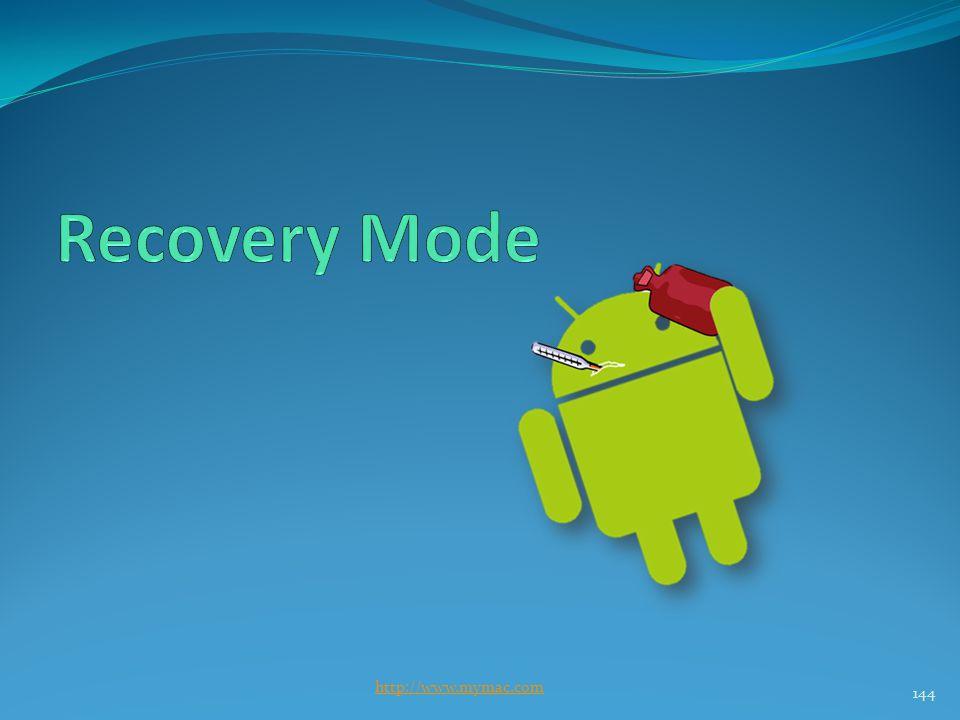 Recovery Mode http://www.mymac.com