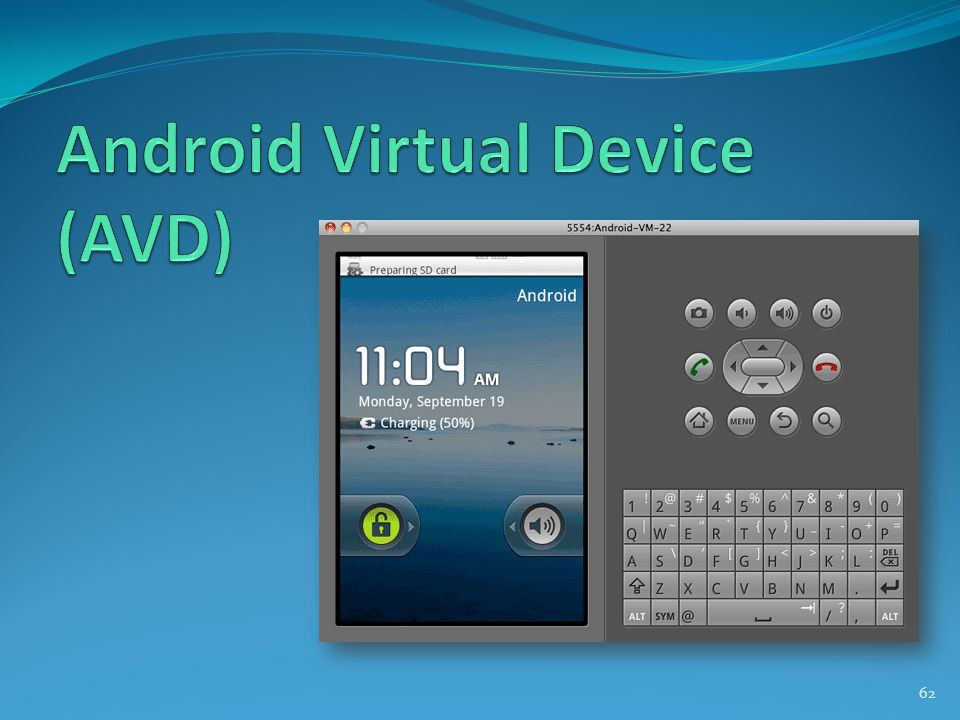 Android Virtual Device (AVD)