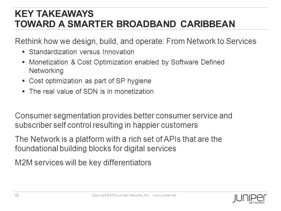 Key takeaways toward a smarter broadband Caribbean
