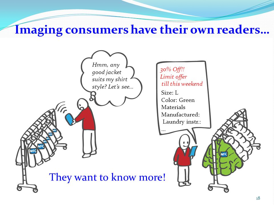 Imaging consumers have their own readers…