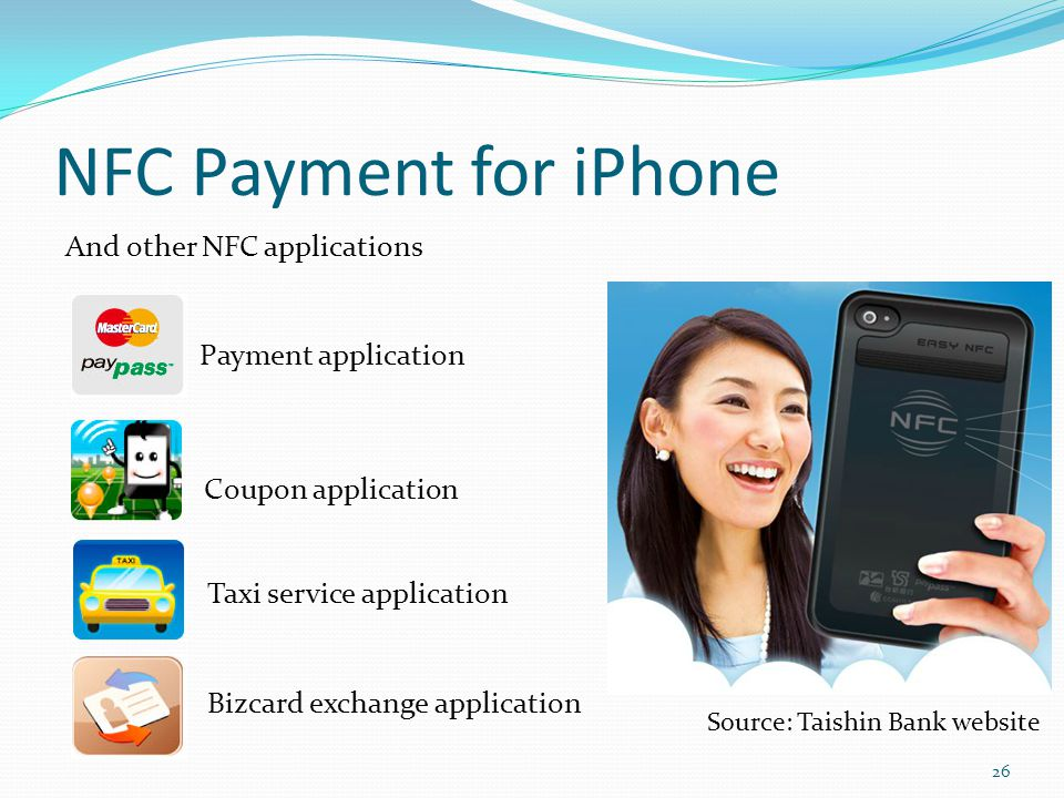 NFC Payment for iPhone And other NFC applications Payment application