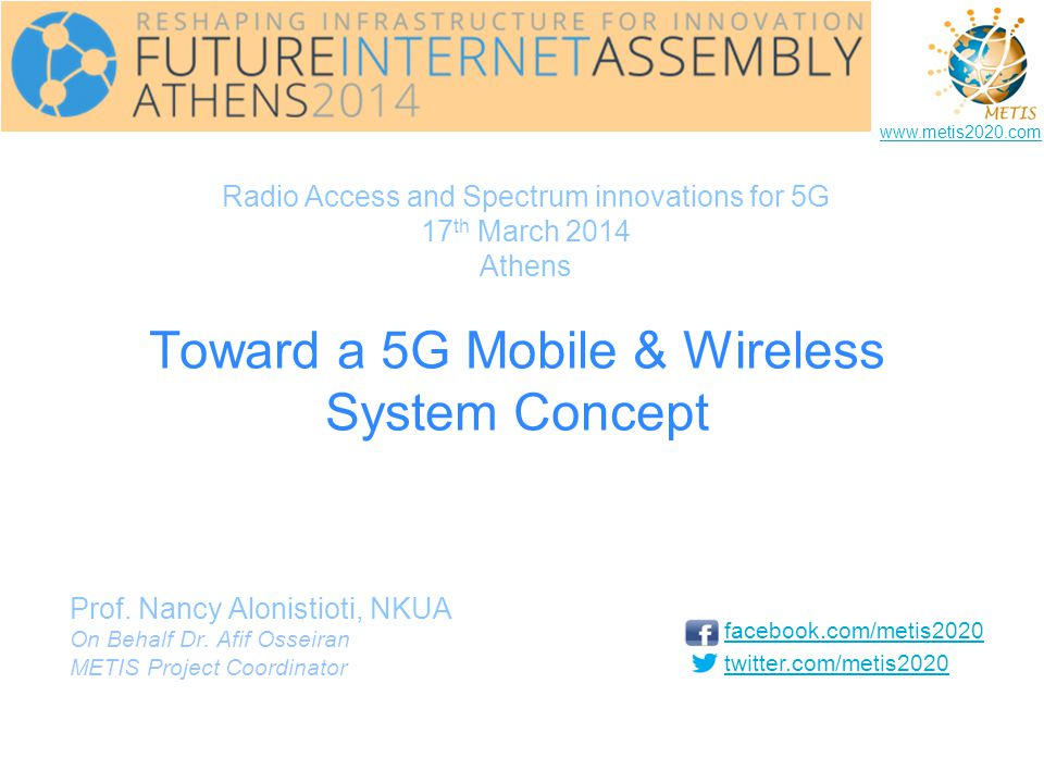 Toward a 5G Mobile & Wireless System Concept