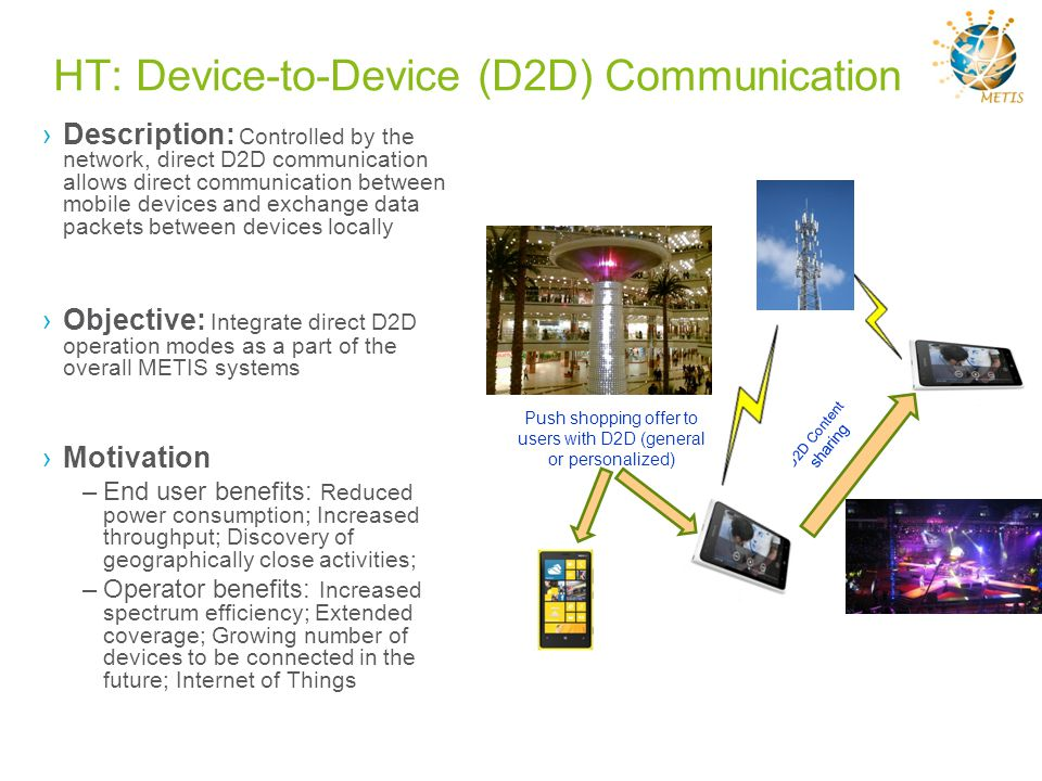 HT: Device-to-Device (D2D) Communication