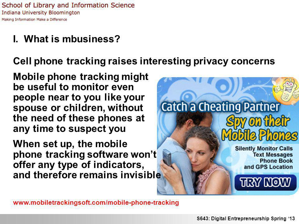 Cell phone tracking raises interesting privacy concerns