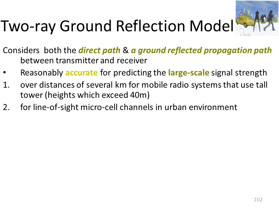 Two-ray Ground Reflection Model
