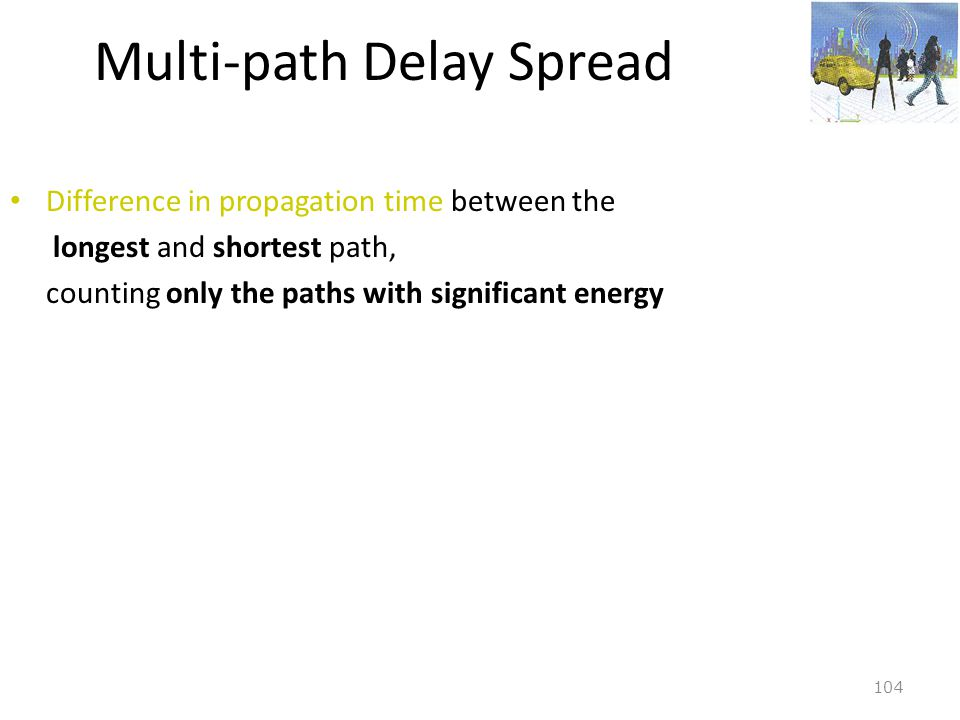 Multi-path Delay Spread