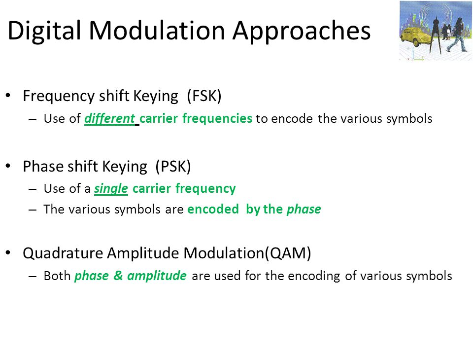 Digital Modulation Approaches