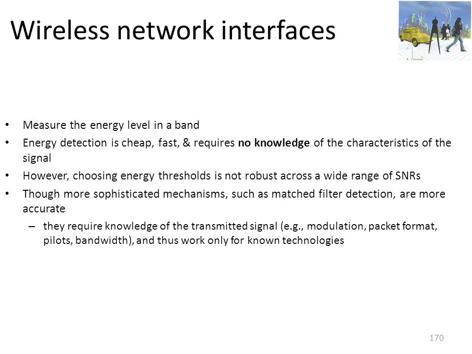 Wireless network interfaces