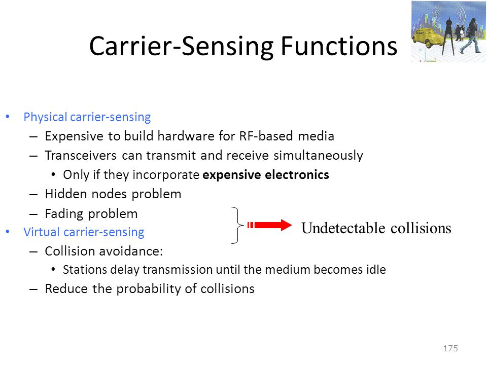 Carrier-Sensing Functions