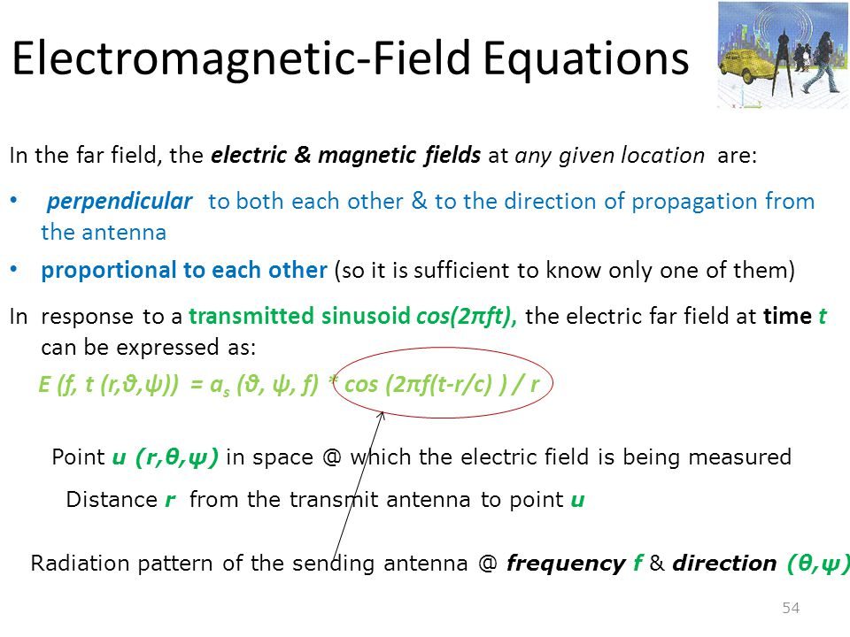 Electromagnetic-Field Equations