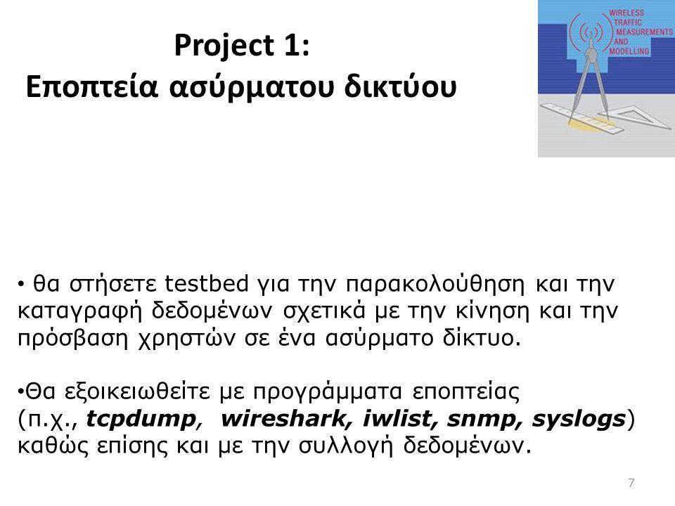 Project 1: Εποπτεία ασύρματου δικτύου