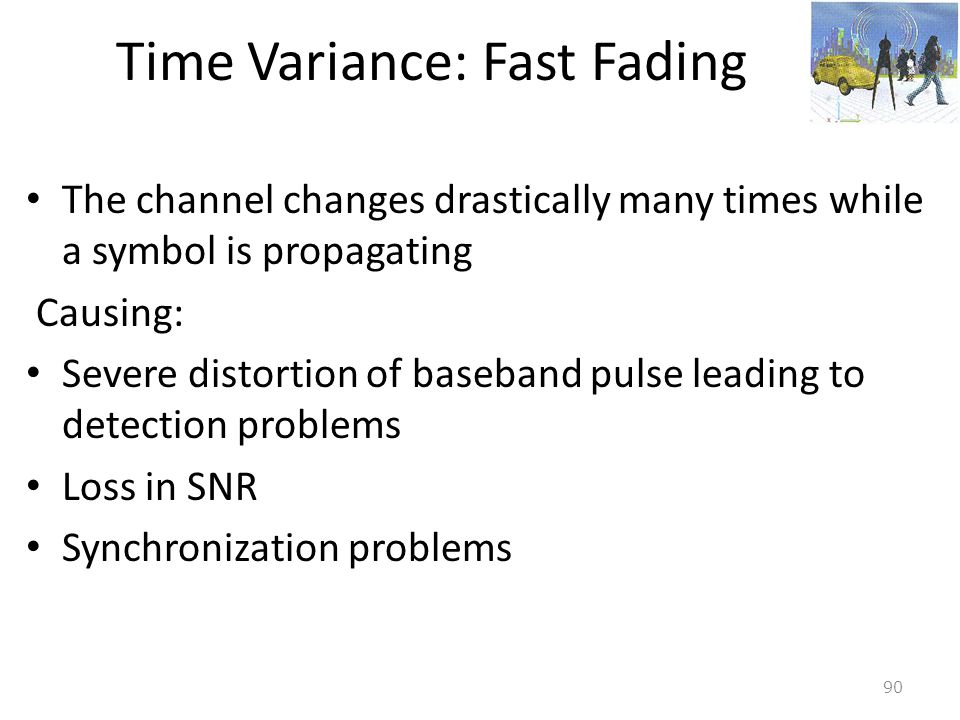 Time Variance: Fast Fading