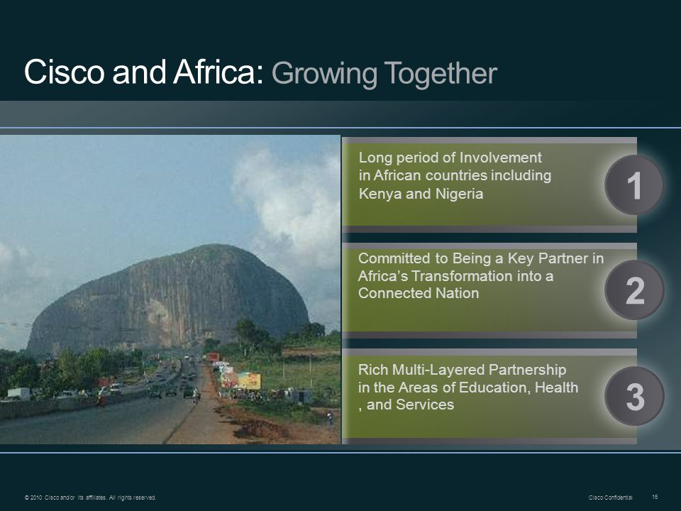 Cisco and Africa: Growing Together