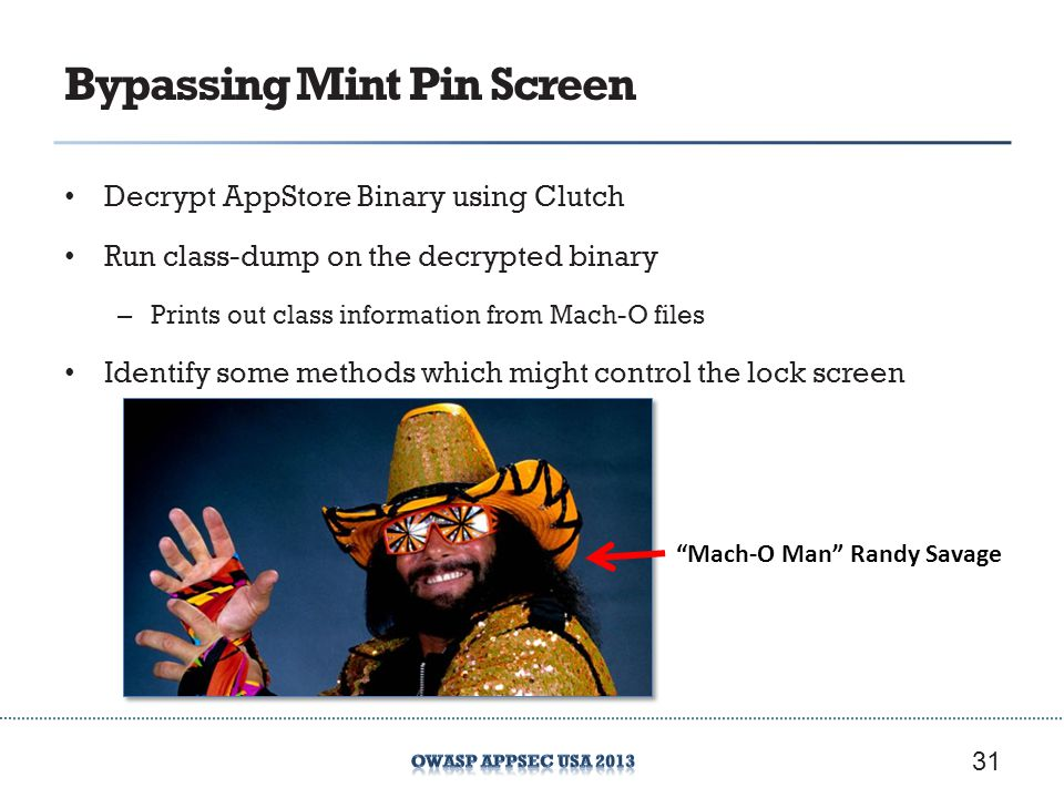 Bypassing Mint Pin Screen