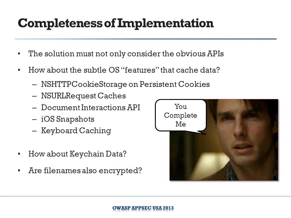 Completeness of Implementation