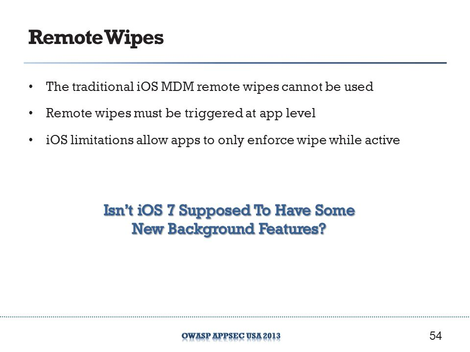 Remote Wipes Isn't iOS 7 Supposed To Have Some