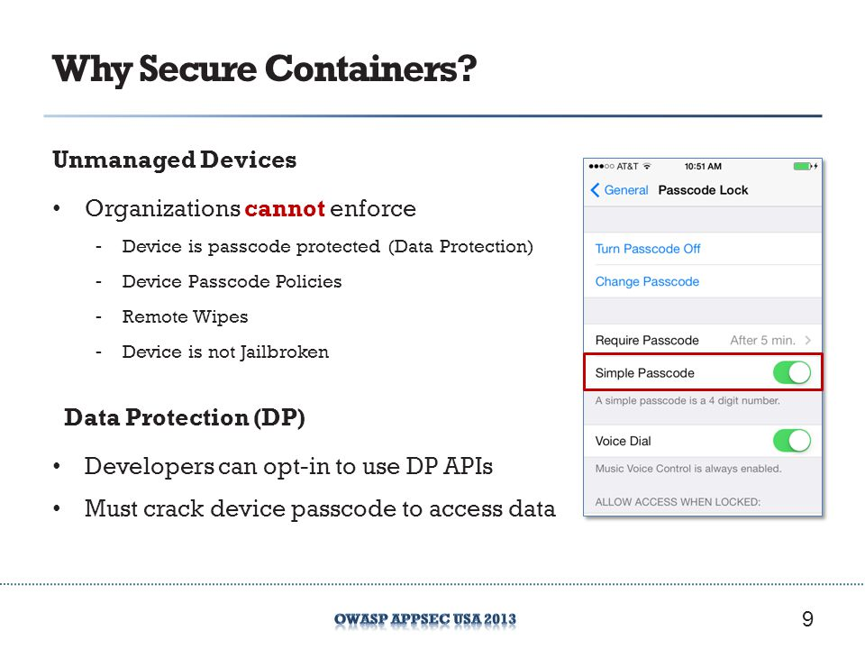 Why Secure Containers Unmanaged Devices Organizations cannot enforce