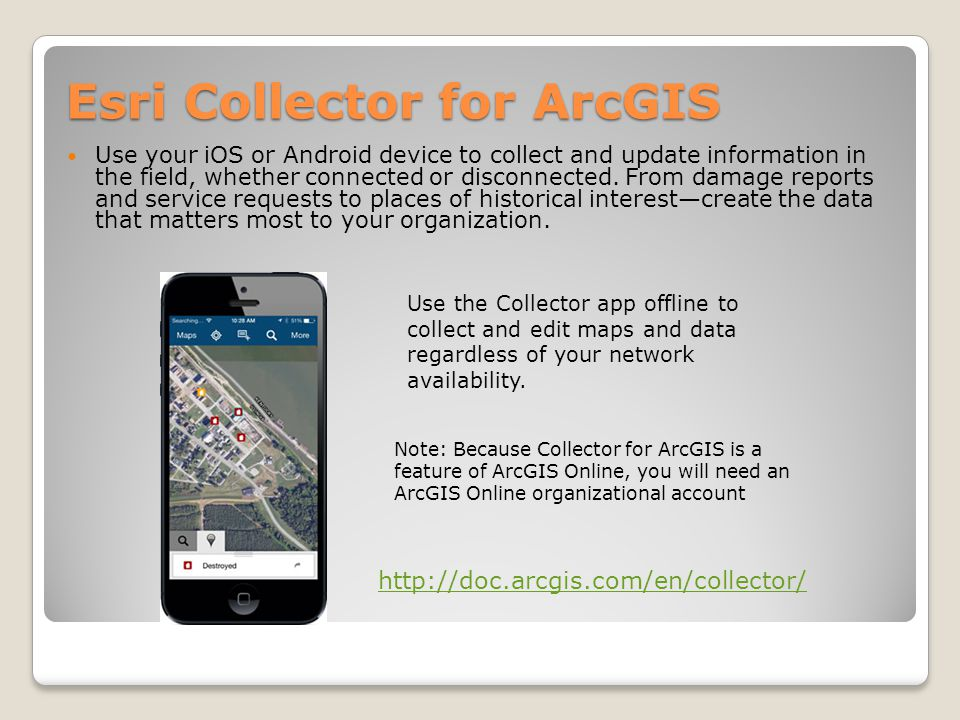 Esri Collector for ArcGIS
