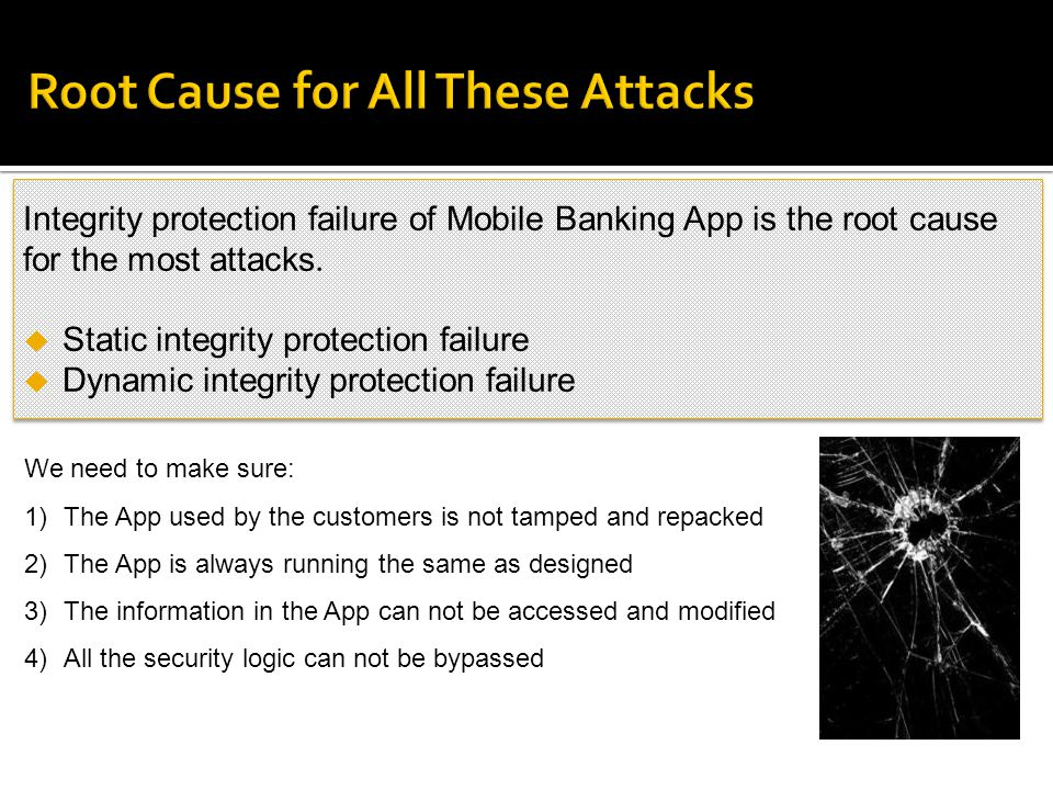 Root Cause for All These Attacks