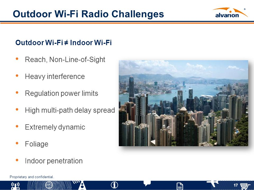 Outdoor Wi-Fi Radio Challenges
