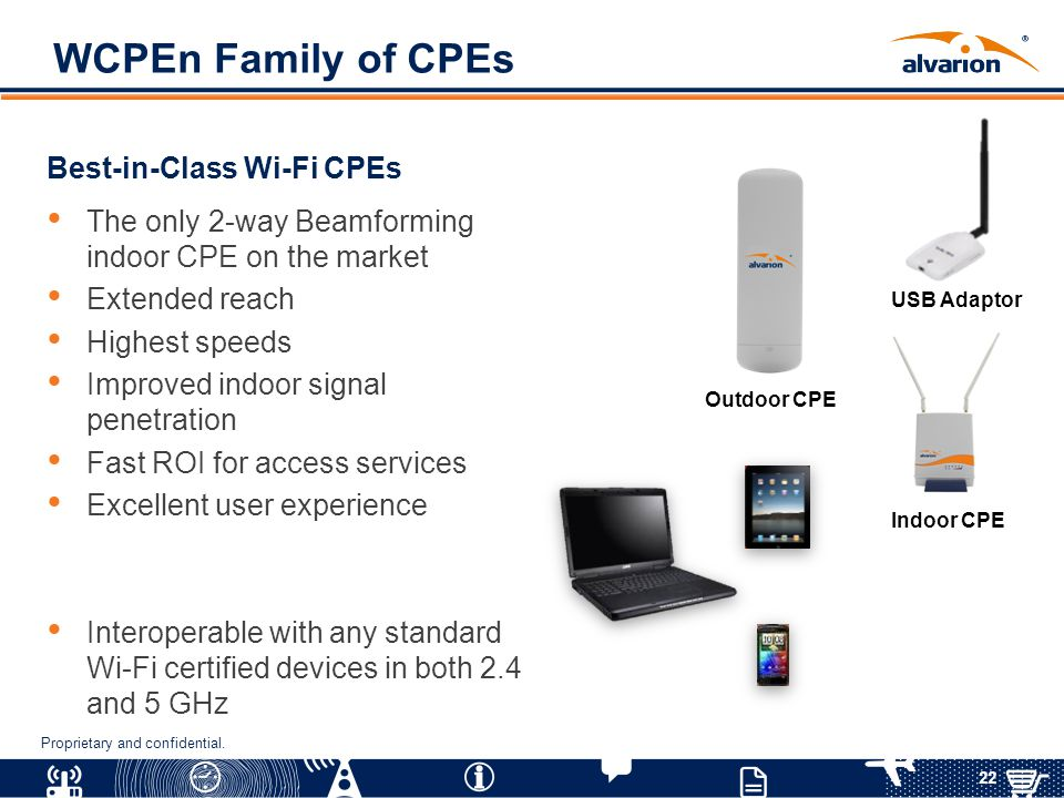 WCPEn Family of CPEs Best-in-Class Wi-Fi CPEs