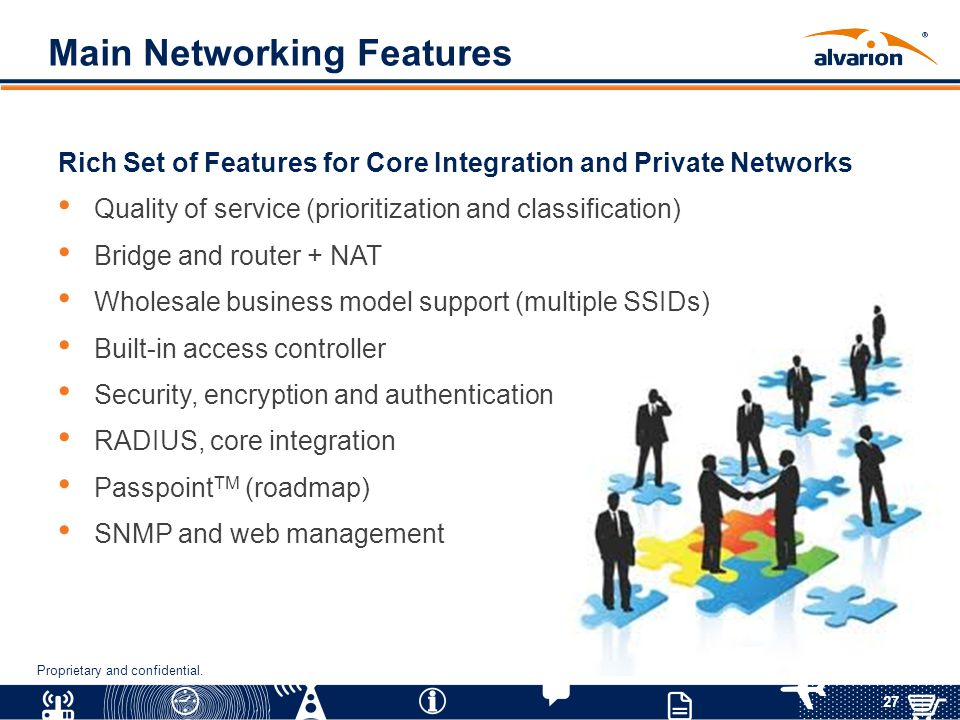 Main Networking Features