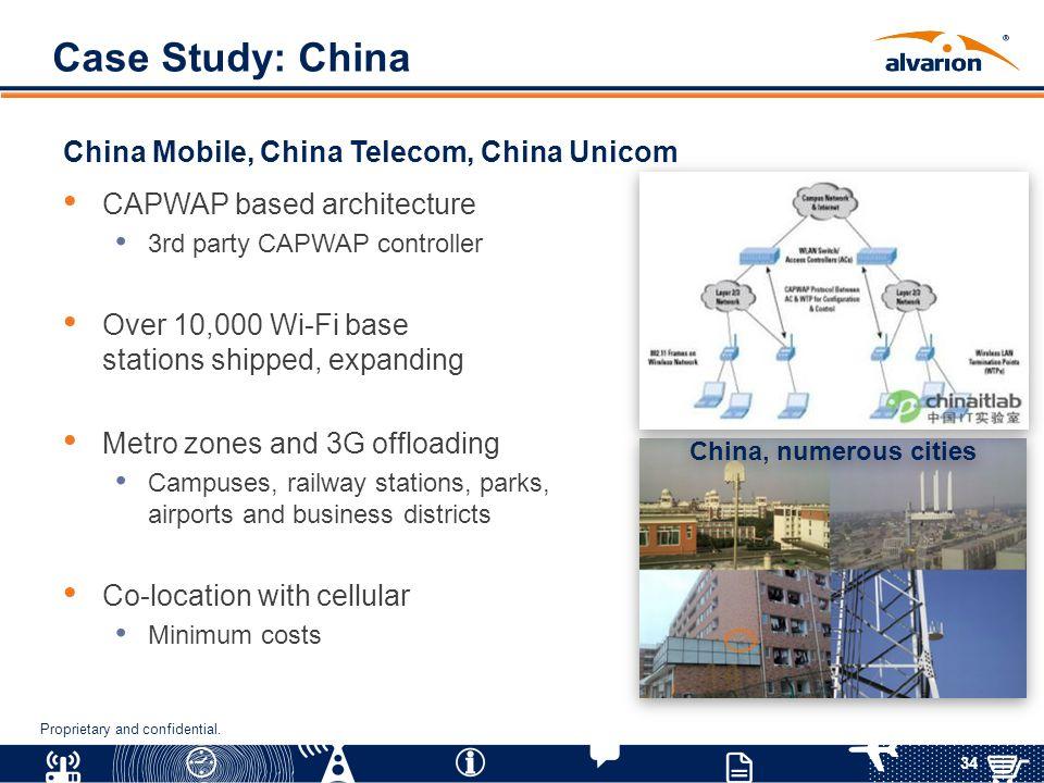 Case Study: China China Mobile, China Telecom, China Unicom