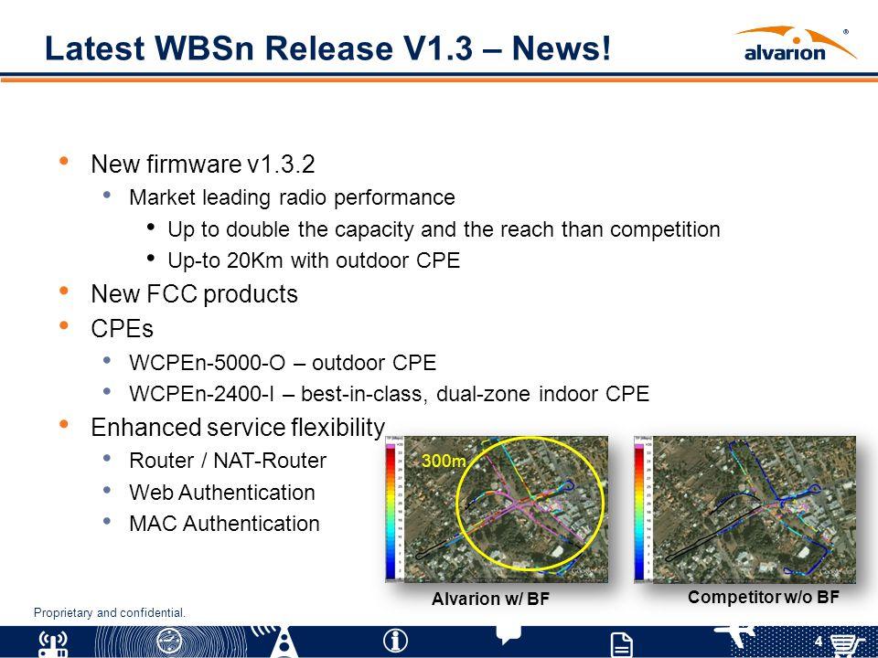 Latest WBSn Release V1.3 – News!