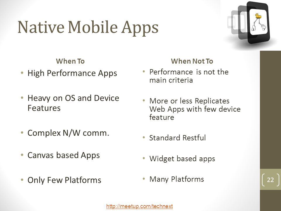 Native Mobile Apps High Performance Apps