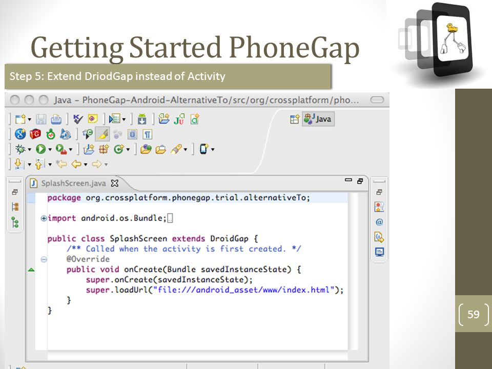 Getting Started PhoneGap