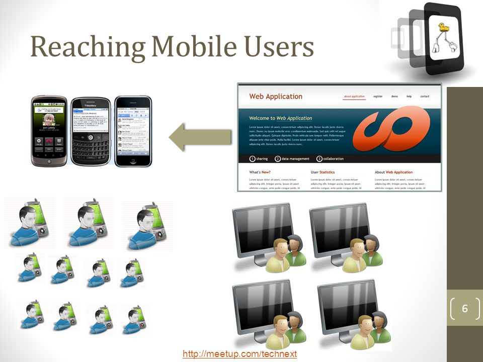 Reaching Mobile Users