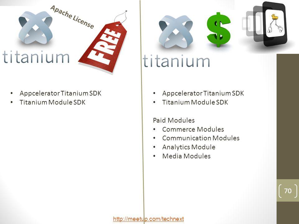 Apache License Appcelerator Titanium SDK. Titanium Module SDK. Appcelerator Titanium SDK. Titanium Module SDK.
