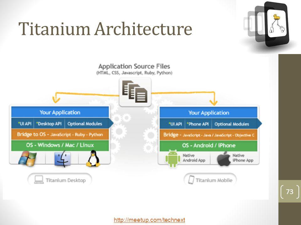 Titanium Architecture