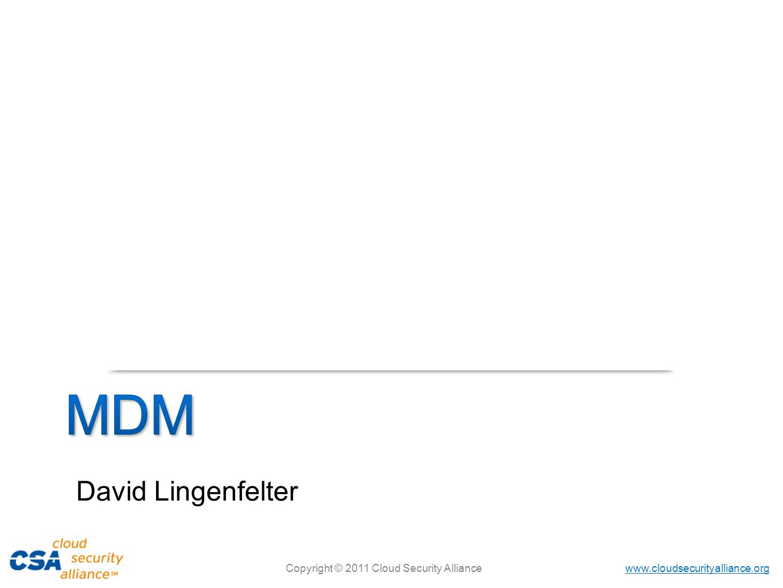 MDM David Lingenfelter