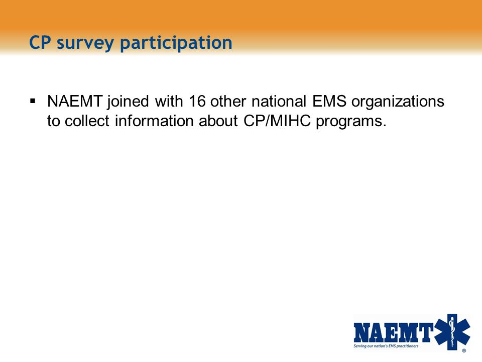CP survey participation