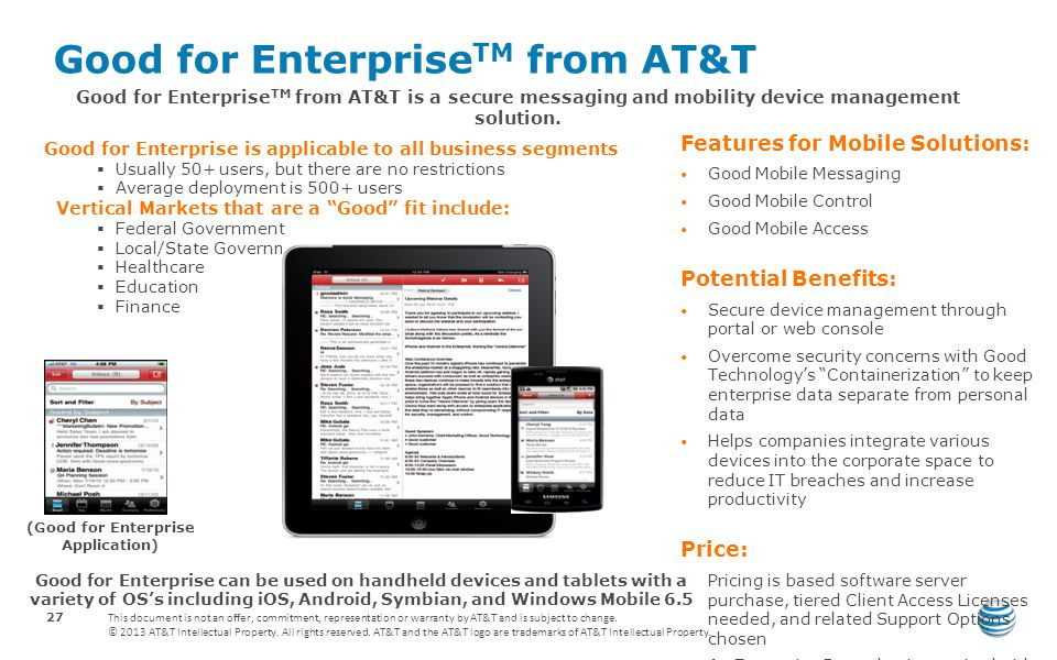 Good for EnterpriseTM from AT&T