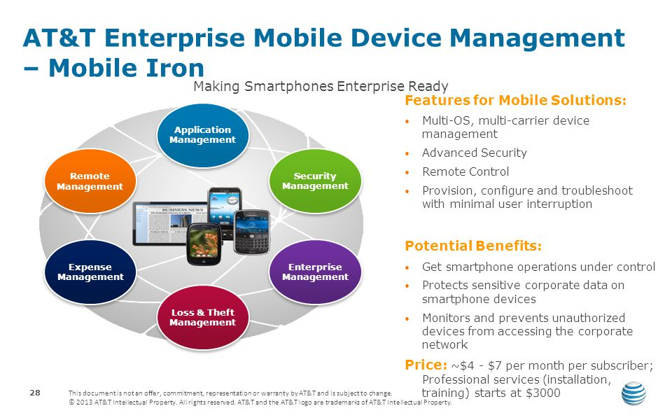 AT&T Enterprise Mobile Device Management – Mobile Iron