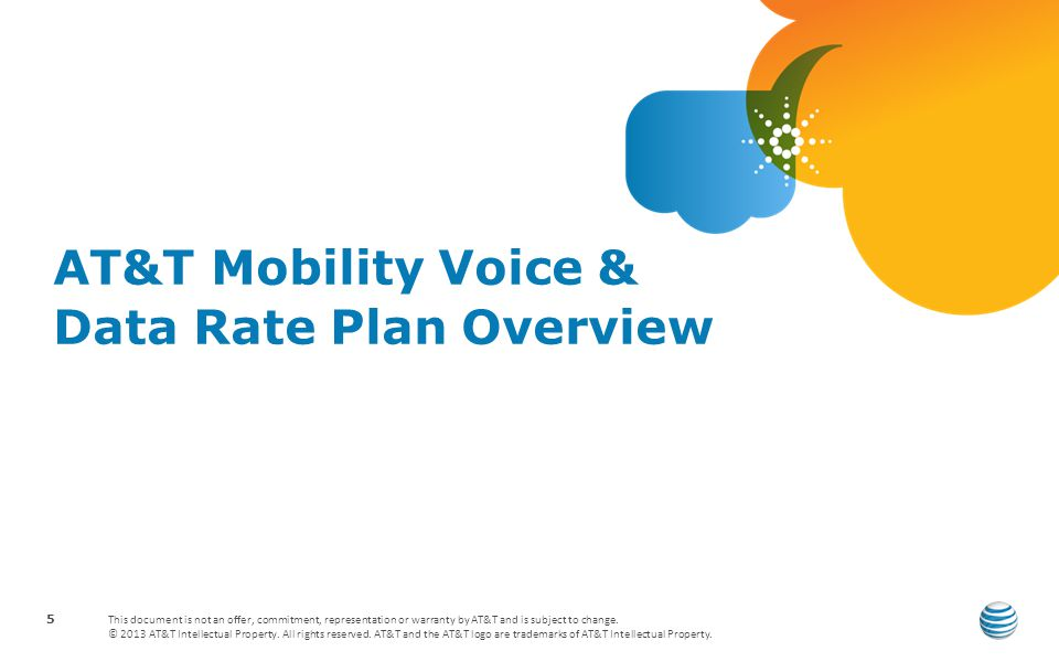 AT&T Mobility Voice & Data Rate Plan Overview