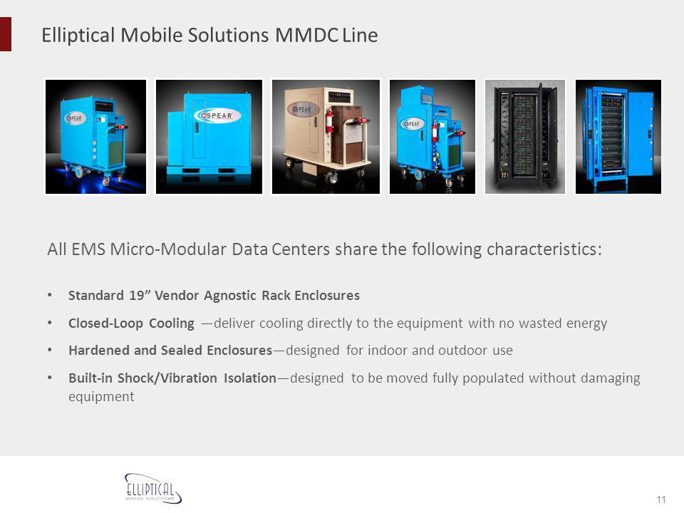 Elliptical Mobile Solutions MMDC Line