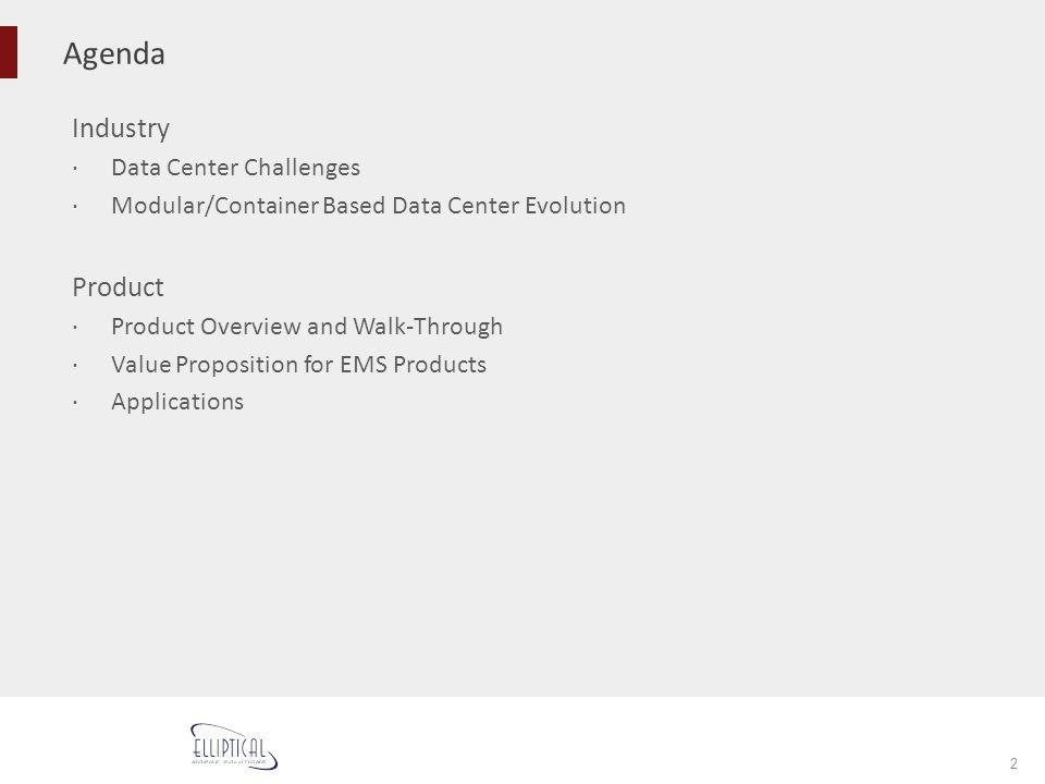 Agenda Industry Product Data Center Challenges
