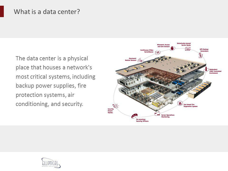What is a data center The data center is a physical