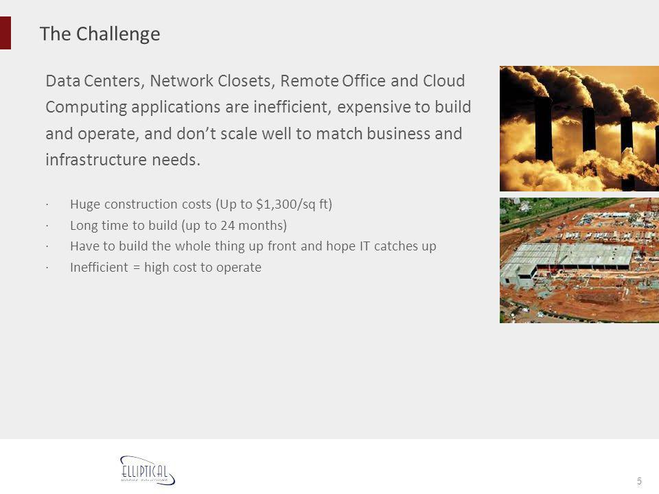 The Challenge Data Centers, Network Closets, Remote Office and Cloud