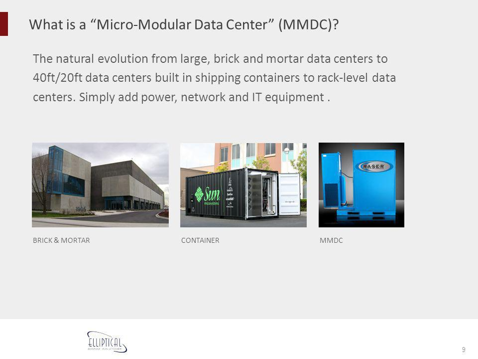 What is a Micro-Modular Data Center (MMDC)